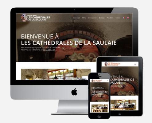 Nouveau site Cathédrales de la Saulaie